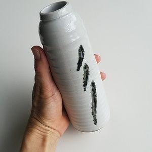 Handmade Asian pottery vase
